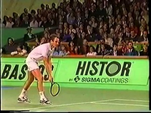 John McEnroe won the 1988 final in Antwerp against Andrei Chesnokov