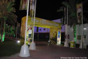 Traditional start of the new season: Qatar Exxon Mobil Open in Doha