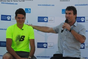 Q&A session with Milos Raonic and Pat Cash