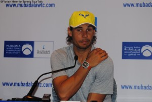 Rafael Nadal will play his first match on Friday