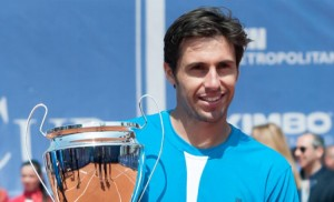Daniel Munoz de la Nava lifted his first Challenger trophy since Cordenons 2011