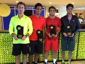 Doubles finalists in Antalya