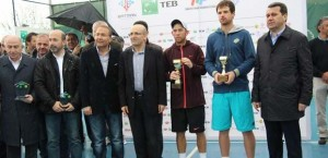 The finalists in Batman: Dudi Sela and Blaz Kavcic