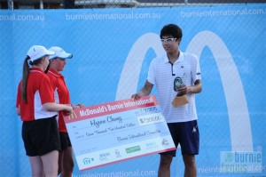 Hyeon Chung (photo: Burnie Tennis)