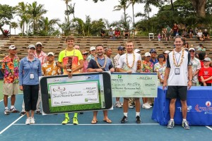 Jared Donaldson in Maui (photo: USTA)
