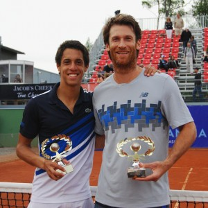Tristan Lamasine and André Ghem also won the doubles title in Tampere