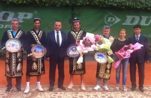 Teymuraz Gabashvili with his second title within two weeks