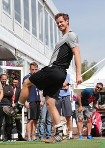 Andy Murray during last year's BMW Open (photo: Philippe Ruiz)