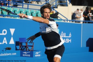 Feliciano López reached the 5th place in Abu Dhabi