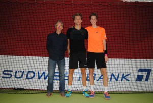 Antoine Bellier and Hugo Grenier captured the doubles title