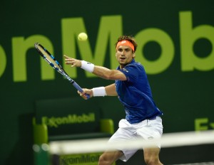 David Ferrer is out in Doha (photo: QTF)