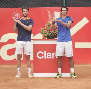 Julio Peralta (right) and Horacio Zeballos (photo: TenisGrandSlam)
