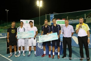 Doubles finalists in Nouméa