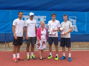Doubles finalists in Onkaparinga (photo: Tennis Results)