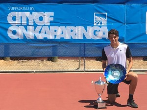 Third Challenger title for Taylor Fritz (photo: Tennis SA)