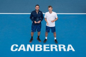 Doubles champions: Gonzalez and Fyrstenberg (photo: Ben Southall)