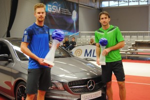 The finalists in Nussloch: Nils Langer and Niels Desein