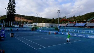 ATP Challenger final in Nouméa