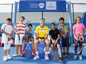 Pat Cash clinic at MWTC