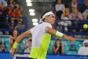 Nadal converted his first match point
