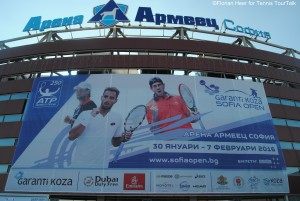 Arena Armeets during Sofia Open 2016
