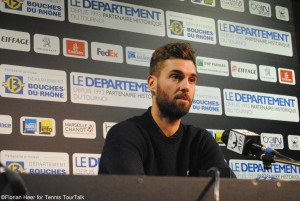 Benoit Paire made it into the semi-finals in Marseillel for the first time