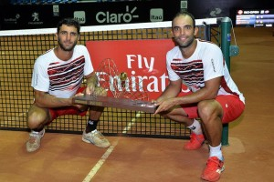 Cabal and Farah won the doubles title (photo: Rio Open)
