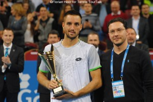 Sofia's runner-up Viktor Troicki