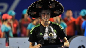 Dominic Thiem celebrated his biggest career title