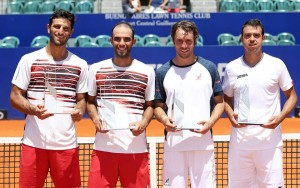 Doubles finalists Buenos Aires