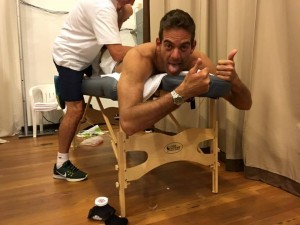 """""""Tired but this happy!"""" Del Potro on twitter"""