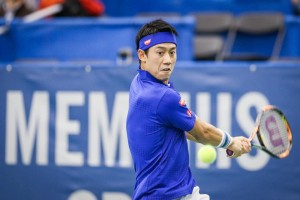 15 and counting: Kei Nishikori (photo: Memphis Open)