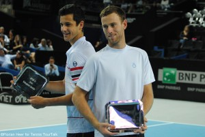 Third ATP doubles title of the season for: Mate Pavic and Michael Venus