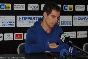 Richard Gasquet lost his first match of the season