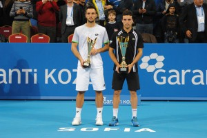 The finalists of the Sofia Open