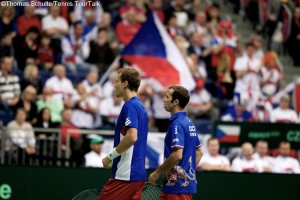 Tomas Berdych and Radek Stepanek