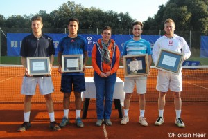 Doubles finalists in Pula