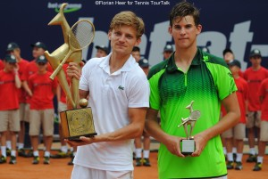 Dominic Thiem lost the final 2014 to David Goffin