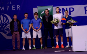 Doubles ceremony in Quimper (photo: Rémy Chautard)