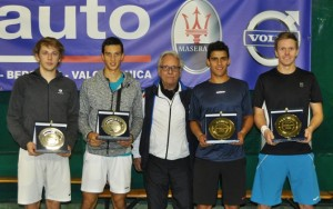 Doubles finalists (photo: Sondrio Tennis Club)