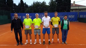 Doubles finalists in Opatija
