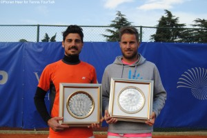 Omar Giacalone and Pietro Rondoni won the doubles title
