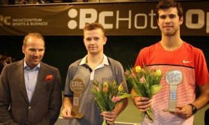 The finalists of the ATP Challenger in Jönköping (photo: RC Hotel Open)