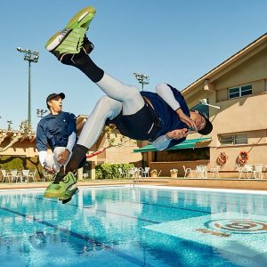 The Bryan Brothers celebrate their victory in Barcelona
