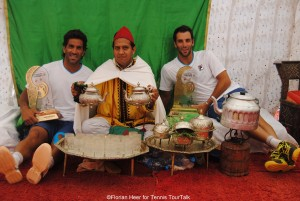 Moroccan experience for doubles champions Máximo González and Guillermo Duran