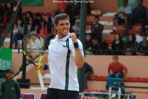 Federico Delbonis has reached his first final on the ATP World Tour in two years