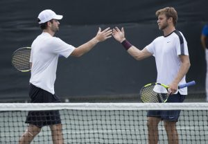 Brian Baker and Ryan Harrison (photo: Jacob Stuckey)