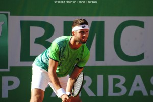Jiri Vesely reached his first semi-final of the season