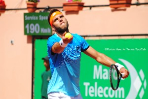 Jiri Vesely reached his first quarterfinal of the season