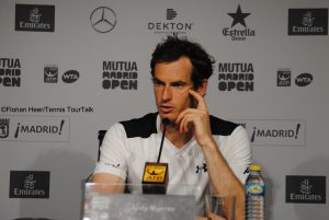Andy Murray in Madrid